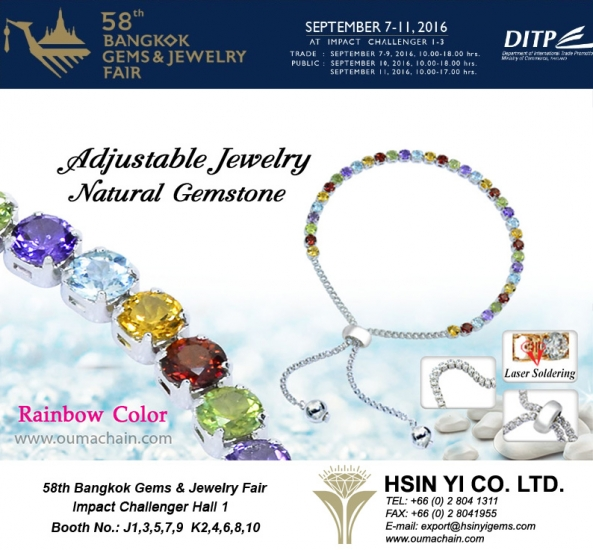 The 58th Bangkok Gems and Jewelry 2016