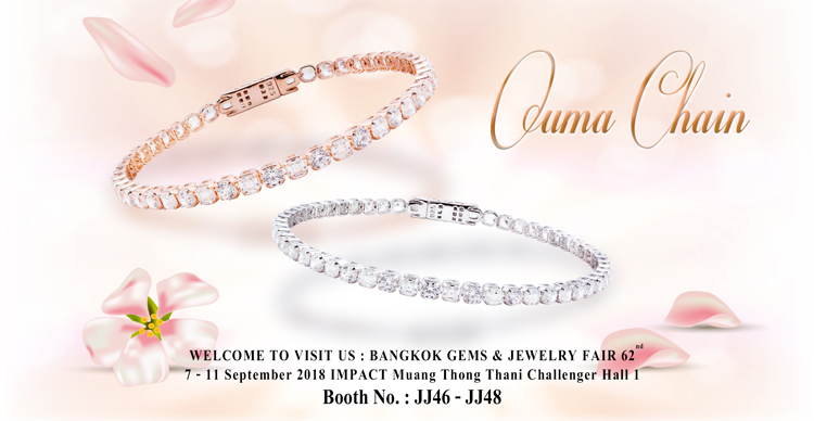 WELCOME TO VISIT US : Bangkok Gems & Jewelry Fair 2018